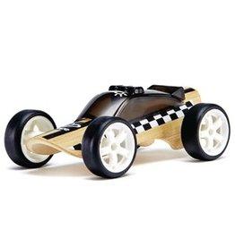 Hape Toys Mini Police Car - Black