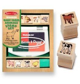 Melissa & Doug Melissa & Doug Stamp Set - Baby Farm Animals