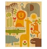 Petit Collage Petit Collage Safari Print 11x14