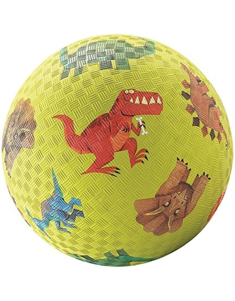 "Crocodile Creek Crocodile Creek 5"" Ball - Green Dinos"
