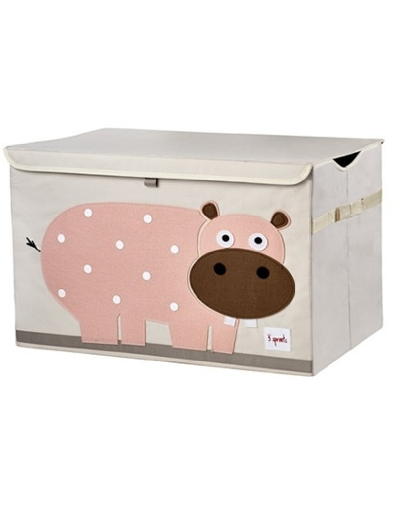 3 Sprouts 3 Sprouts Hippo Toy Chest
