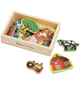 Melissa & Doug Melissa & Doug Wooden Farm Magnets