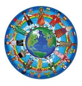Melissa & Doug Melissa & Doug 48pc Floor Puzzle Children Around the World