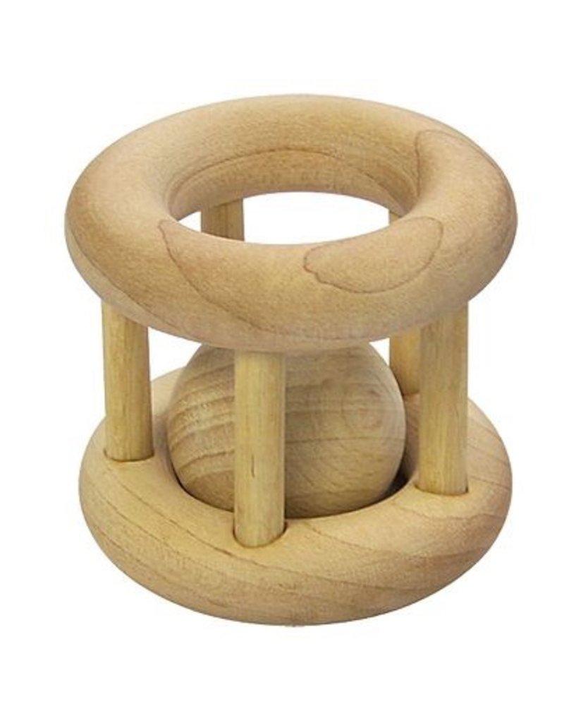 iPlay iPlay Wooden Cage Rattle