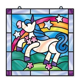 Melissa & Doug Unicorn Stained Glass Made Easy