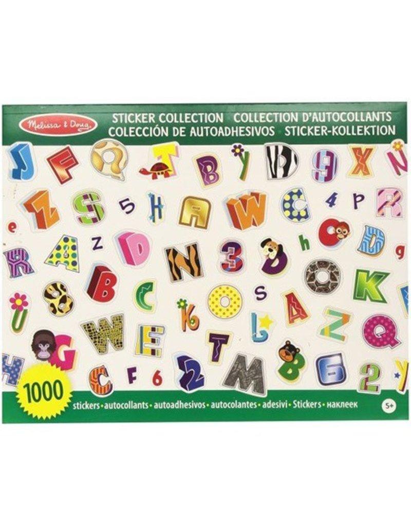 Melissa & Doug Melissa & Doug Stickers Alphabet & Numbers