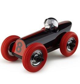Playforever Playforever Midi Race Car Buck - Black Red w/Chrome
