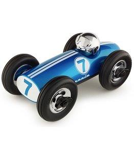Playforever Playforever Midi Race Car Bonnie - Blue/Chrome