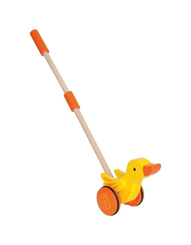 Hape Toys Hape Push Pal Duck