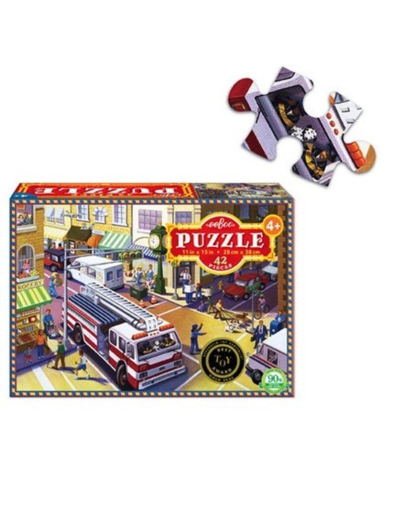 Eeboo Eeboo 42 Piece Puzzle - Fire Truck