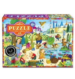 Eeboo Eeboo 42 Piece Puzzle - Mystery in the Forest