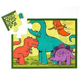 Mudpuppy Mudpuppy 12 Piece Puzzle - Dinosaur