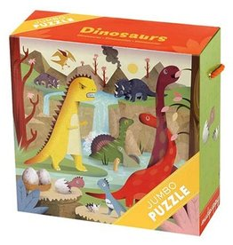 Mudpuppy Mudpuppy Jumbo Puzzle Dinosaurs
