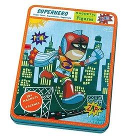 Mudpuppy Magnetic Figures - Superhero