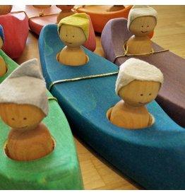 L'Atelier Cheval De Bois L'Atelier Cheval De Bois Canoe - Blue