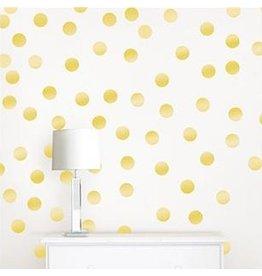 Wall Pops! Metallic Gold Confetti Dots