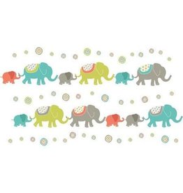 Wall Pops! Tag Along Elephants Kit