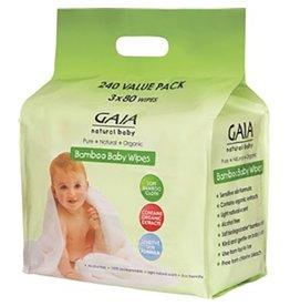 Gaia Gaia Bamboo Wipes 240pk
