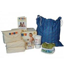Bummis Bummis Organic Diaper Kit - Baby 15-30lbs