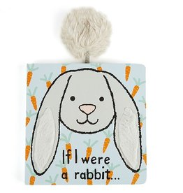 Jellycat If I Were A Grey Rabbit Book