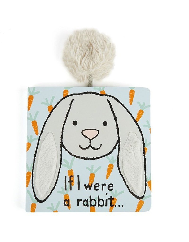 Jellycat Jellycat If I Were A Grey Rabbit Book