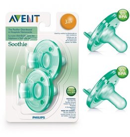 Philips Avent Philips Avent Green Soothie 2pk, 0-3m