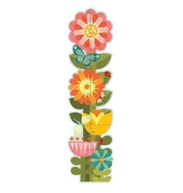 Petit Collage Petit Collage Flowers Growth Chart