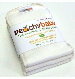 Peachy Baby Peachy Baby Small Diaper Insert 3pk