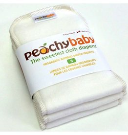 AMP Diapers Peachy Baby Large Diaper Insert 3pk