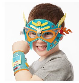Melissa & Doug Melissa & Doug Crafty: Superhero Masks & Cuffs