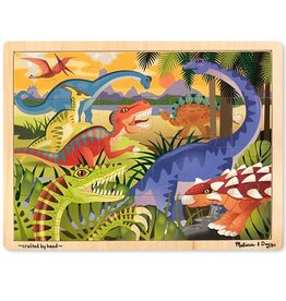 Melissa & Doug Melissa & Doug Dinosaur Jigsaw Puzzle - 24 Pieces
