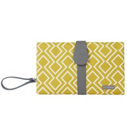 JJ Cole JJ Cole Changing Clutch - Citrine Lattice