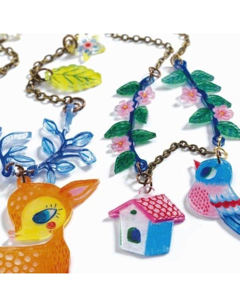 Djeco Magic Plastic - Fawn & Bird