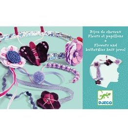 Djeco Djeco Hair Jewels - Flowers And Butterflies