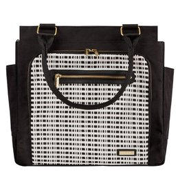 JJ Cole JJ Cole Freeman Diaper Bag - Black/Cream