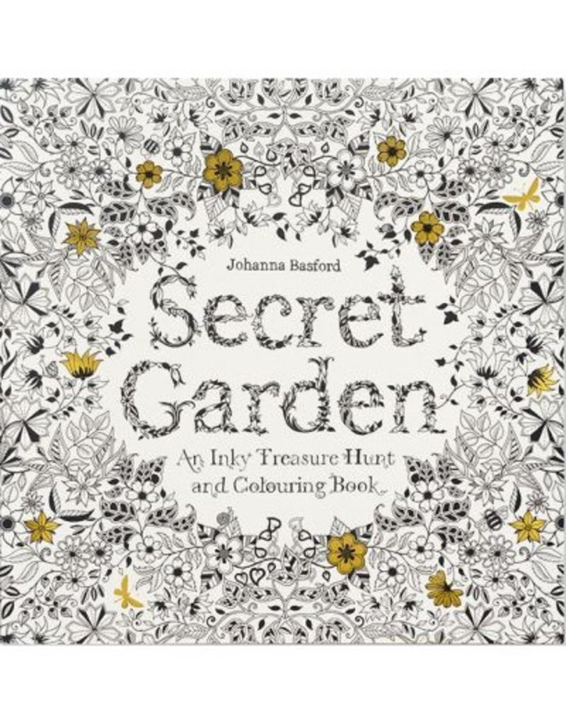 Chronicle Books Secret Garden - An Inky Treasure Hunt and Coloring Book