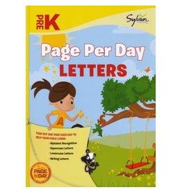 Random House Pre-K Page Per Day: Letters