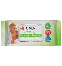 Gaia Gaia Bamboo Wipes 80pk