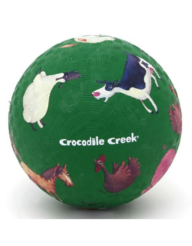 "Crocodile Creek Crocodile Creek 5"" Ball - Barnyard"