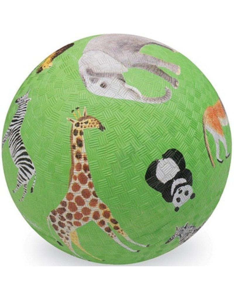 "Crocodile Creek Crocodile Creek 7"" Ball - Wild Animal Green"