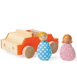 Manhattan Toys MIO Car + 2 People