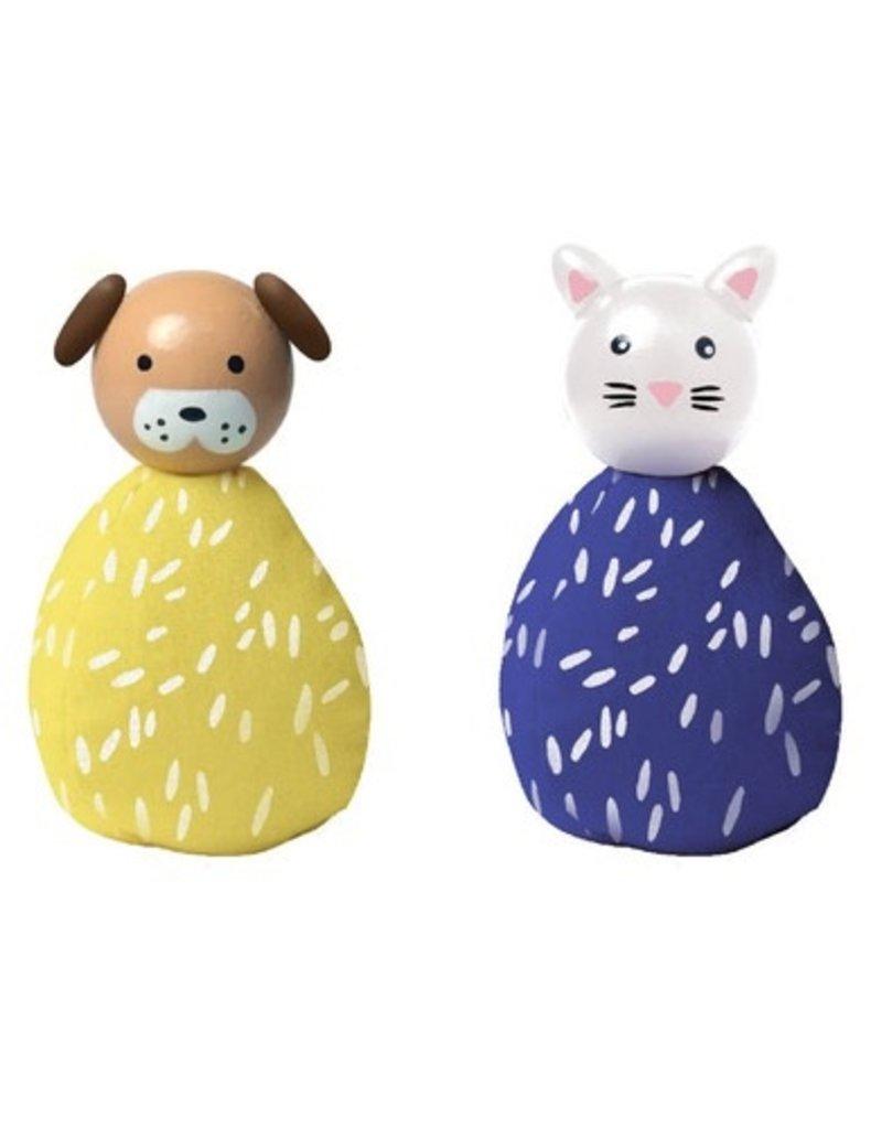 Manhattan Toys MIO Animal Set  - Dog/Cat