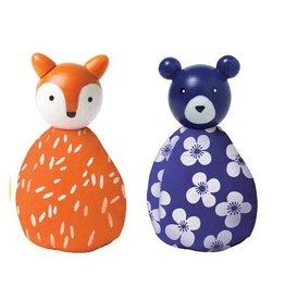 Manhattan Toys MIO Animal Set - Fox/Bear