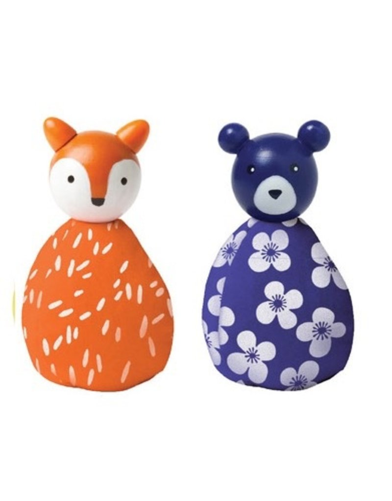 Manhattan Toys MIO Animal Set - Fox/Bear