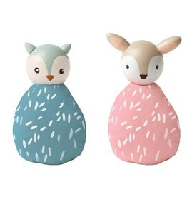 Manhattan Toys MIO Animal Set - Owl/Deer