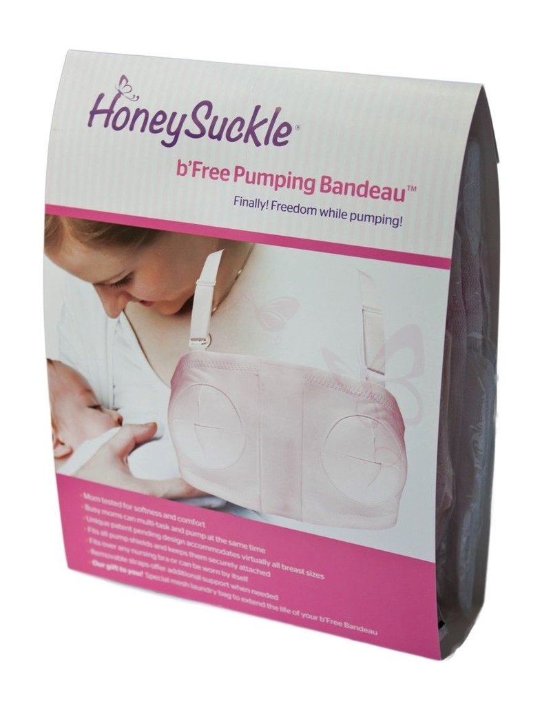 Honeysuckle Hands Free Pumping Bra S-M