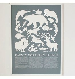 Banquet Banquet Twenty Northern Forest Friends Print