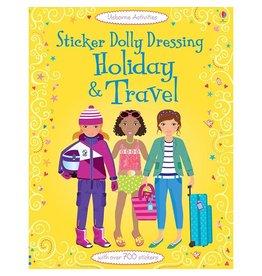 Usborne Sticker Book: Holiday & Travel