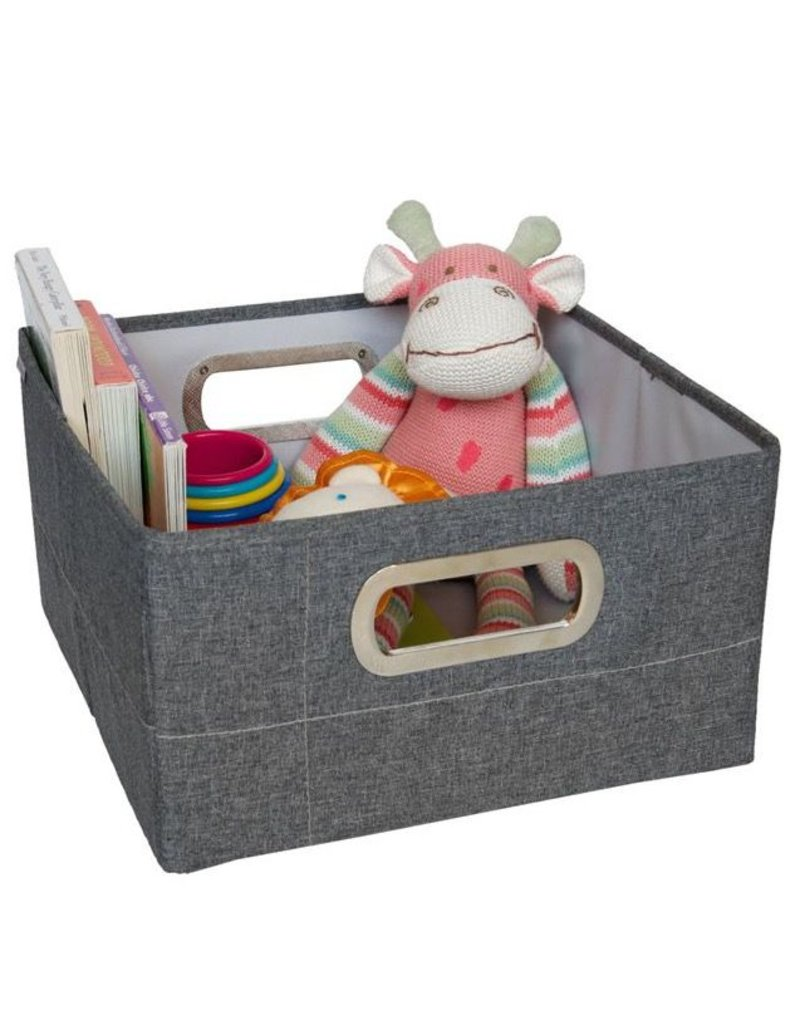 "JJ Cole JJ Cole Storage Box 6.5"" - Slate Heather"