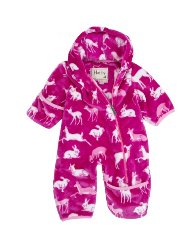 Hatley Hatley Deer & Bunnies Fuzzy Fleece Bundler